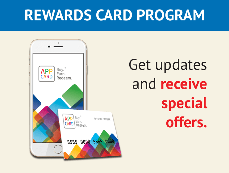 Rewards card program